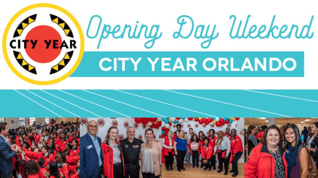 City Year Orlando opening day header image