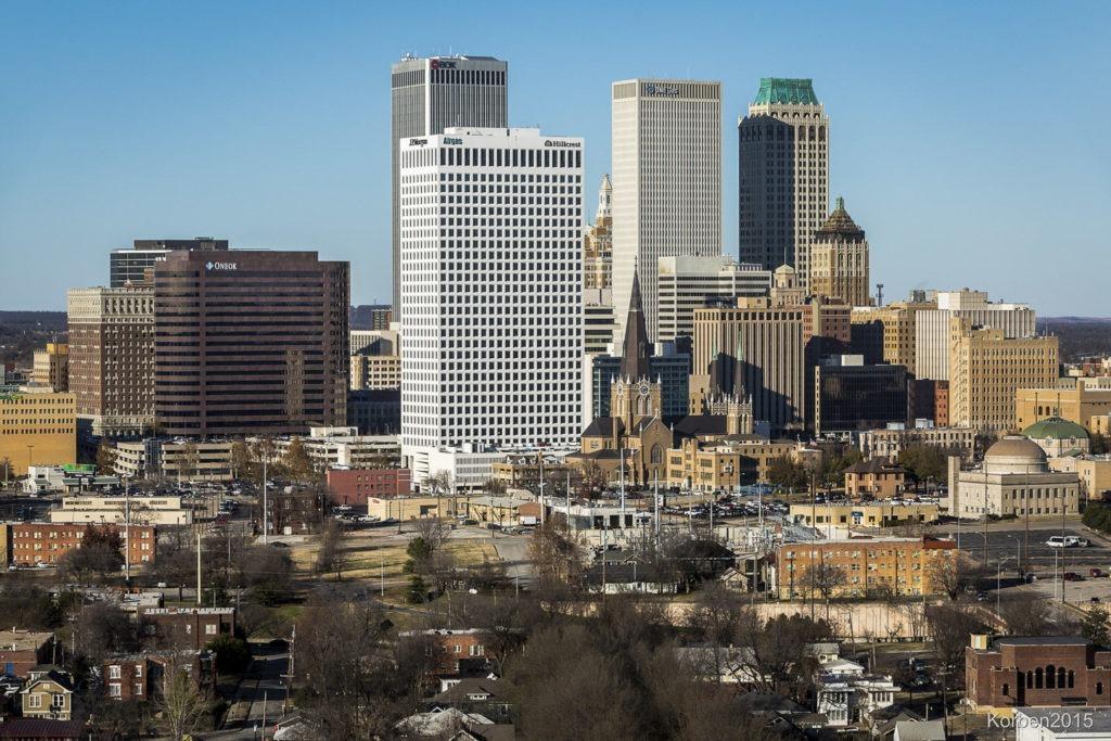 downtown Tulsa skyline