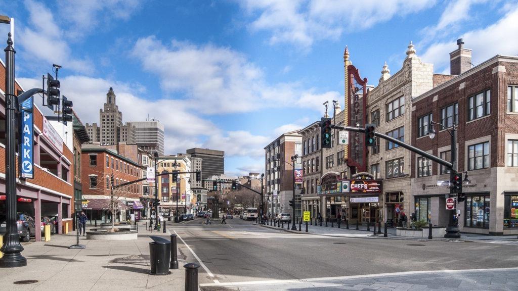street in providence, Rhode Island