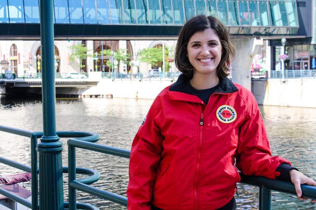 City Year AmeriCorps member Kristina Stamm