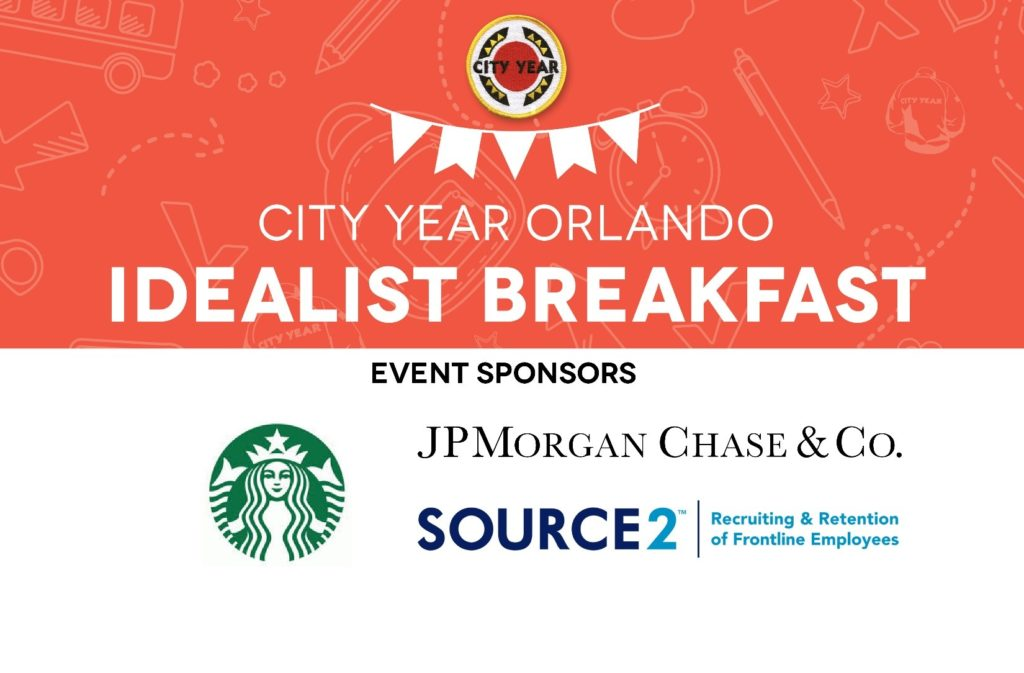 City Year Orlando Idealist Breakfast Header